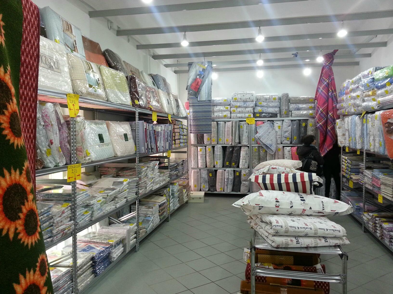 Temporary store biancheria per la casa ad ancona - Biancheria per la casa ...